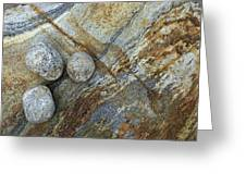Stones From Verzasca Valley Greeting Card