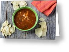 Tortilla Soup Greeting Card