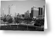 Tulsa Oklahoma Skyline Greeting Card