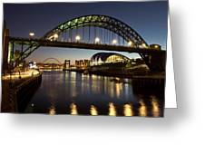 Tyne Bridge Greeting Card