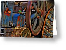 Wheels Of Time Greeting Card