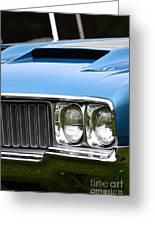 60's Oldsmobile 442 Greeting Card