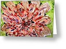 Mann Flowers Greeting Card