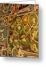 85 Pence-apple Greeting Card by Dorothy Rafferty