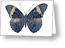 89 Red Cracker Butterfly Greeting Card
