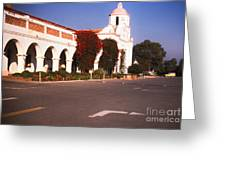 893 Sl San Luis Rey 3 Greeting Card