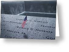 9-11 Memorial Greeting Card