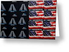 9/11 Memorial For Sale Greeting Card