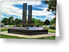 9/11 Memorial Freehold Nj Greeting Card