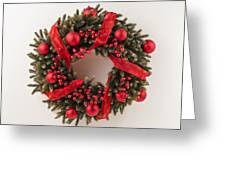 Advent Christmas Wreath  Greeting Card
