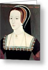Anne Boleyn (1507-1536) Greeting Card