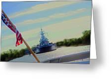 Battleship North Carolina Greeting Card