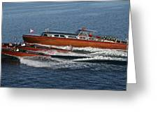 Classic Runabouts Greeting Card