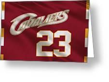 Cleveland Cavaliers Uniform Greeting Card
