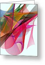 Color Symphony Greeting Card