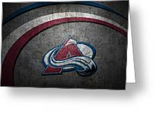 Colorado Avalanche Greeting Card