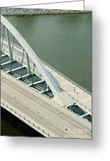 Fx1l-878 Main Street Bridge Columbus Ohio Photo Greeting Card