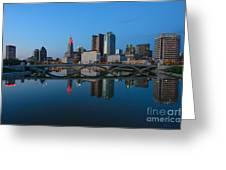Fx2l-508 Columbus Ohio Skyline Photo Greeting Card