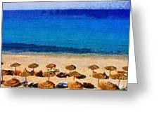 Elia Beach Greeting Card
