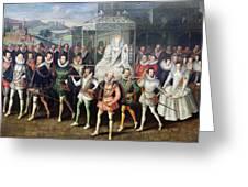 Elizabeth I  (1533-1603) Greeting Card