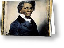 Frederick Douglass Greeting Card