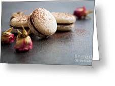 French Macaroons Greeting Card