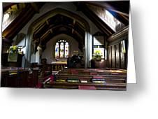 Greensted Church Greeting Card