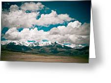 Himalaya Range Greeting Card
