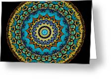 Kaleidoscope Steampunk Series Greeting Card