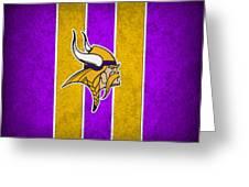 Minnesota Vikings Greeting Card