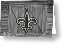 New Orleans Saints Greeting Card