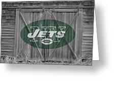 New York Jets Greeting Card by Joe Hamilton