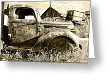 Old Truck Greeting Card