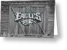 Philadelphia Eagles Greeting Card by Joe Hamilton