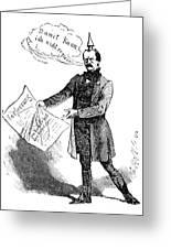 Prince Otto Von Bismarck  Greeting Card
