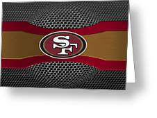 San Francisco 49ers Greeting Card