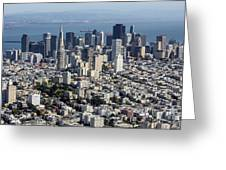 San Francisco, California Ca Greeting Card
