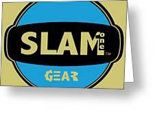 Slam One Gear Greeting Card