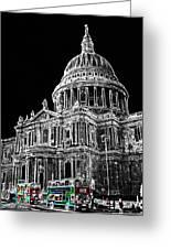 St Pauls Cathedral London Art Greeting Card