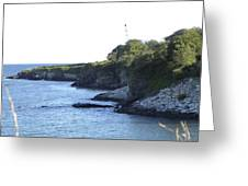 Cliff Walk Greeting Card