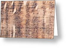 Wood Background Greeting Card
