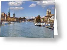 Zurich Greeting Card
