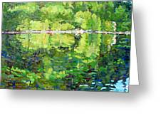 911-sherborne Lake Greeting Card