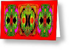 922 - A Psychedelic View ... Greeting Card