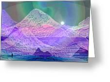 939 - Magic Mood  Mountain World Greeting Card