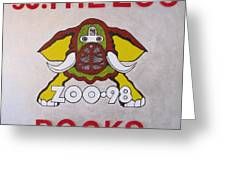 98.the Zoo Rocks Greeting Card