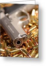 9mm Sw With Brass Greeting Card
