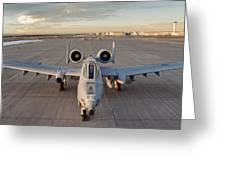 A-10 Greeting Card
