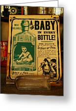 A Baby In Every Bottle Greeting Card