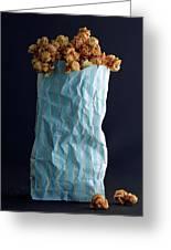 A Bag Of Popcorn Greeting Card